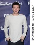 Small photo of Los Angeles, CA, USA; March 01, 2012; Phillip Phillips arrives to the American Idol Finalist Party.