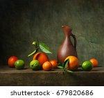 Still Life With Citrus Fruit...