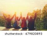 group of team of friends... | Shutterstock . vector #679820893