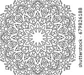 adult coloring book page.... | Shutterstock .eps vector #679826188