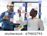 startup business people group... | Shutterstock . vector #679833793