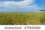 summer seaside landscape in new ... | Shutterstock . vector #679835683