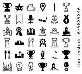 place icons set. set of 36... | Shutterstock .eps vector #679839346