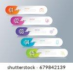 infographics design vector and... | Shutterstock .eps vector #679842139
