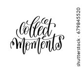collect moment black and white...   Shutterstock .eps vector #679845520