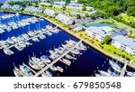 aerial view of intercoastal... | Shutterstock . vector #679850548