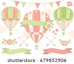 vector romantic set includes... | Shutterstock .eps vector #679852906