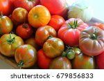 Large Group Of Healthy Red And...