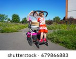 universal baby stand for a...   Shutterstock . vector #679866883