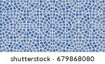 abstract vector seamless... | Shutterstock .eps vector #679868080