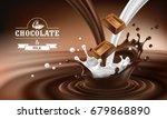vector 3d realistic... | Shutterstock .eps vector #679868890