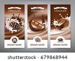 set of vector 3d realistic... | Shutterstock .eps vector #679868944