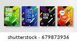 colorful modern poster....   Shutterstock .eps vector #679873936