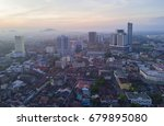 arial view of malacca city... | Shutterstock . vector #679895080