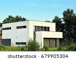 modern  luxury apartment... | Shutterstock . vector #679905304