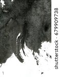 abstract oil stroke texture | Shutterstock . vector #679909738