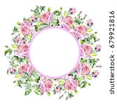 wedding card  invitation  rose... | Shutterstock . vector #679921816