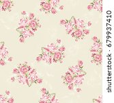seamless floral pattern with...   Shutterstock .eps vector #679937410