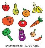 cartoon vector illustration of... | Shutterstock .eps vector #67997383