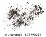 pile dirt isolated on white... | Shutterstock . vector #679990399