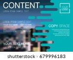 presentation layout design... | Shutterstock .eps vector #679996183