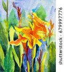 Watercolor Landscape Paintings...