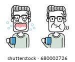 gargle senior | Shutterstock .eps vector #680002726