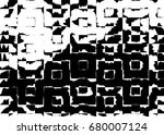 grunge background of black and... | Shutterstock . vector #680007124