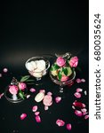 beautifully decorated candy bar ...   Shutterstock . vector #680035624
