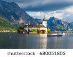gmunden schloss ort or schloss...   Shutterstock . vector #680051803