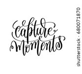 capture moments black and white ... | Shutterstock . vector #680071870