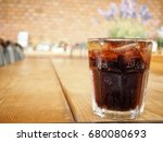 cola with ice cubes | Shutterstock . vector #680080693
