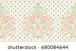 seamless traditional indian... | Shutterstock . vector #680084644