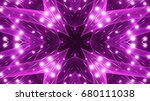 purple floodlights background | Shutterstock . vector #680111038
