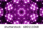 purple floodlights background | Shutterstock . vector #680111068
