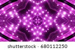purple floodlights background   Shutterstock . vector #680112250