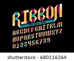 vector of modern stylized... | Shutterstock .eps vector #680116264