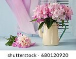 Still Life With Peonies  Flowers