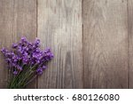 Bouquet Of Summer Lavender On...