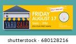vector banner template for... | Shutterstock .eps vector #680128216