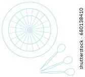 cute vector illustration of...   Shutterstock .eps vector #680138410