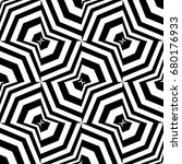 seamless pattern with black... | Shutterstock .eps vector #680176933