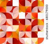 modern geometrical abstract... | Shutterstock .eps vector #680179000