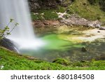 waterfalls and water games... | Shutterstock . vector #680184508