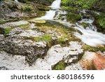 waterfalls and water games... | Shutterstock . vector #680186596