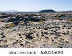 Amboy Crater, an extinct volcano near Amboy, California