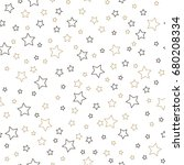 holiday background  seamless... | Shutterstock . vector #680208334