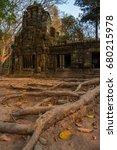 ruins of ta prohm  angkor wat ... | Shutterstock . vector #680215978