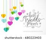 illustration of happy... | Shutterstock .eps vector #680223403