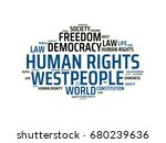 human rights   image with... | Shutterstock . vector #680239636